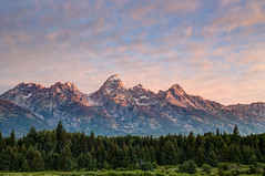 Blacktail Ponds Overlook (Jeremy Duguid) Tags: park morning trees cloud mountain mountains clouds sunrise canon dawn day hole cloudy mark iii grand jeremy jackson national wyoming teton tetons duguid jeremyduguid
