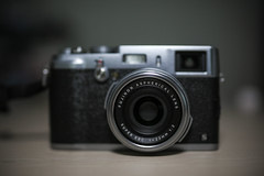 new beast on the house (valiant aja) Tags: canon fuji fujifilm cameraporn sigma35mm x100s