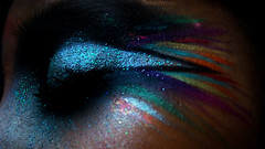 The stars come out (eset is) Tags: blue cute art love glitter night stars lights rainbow colorful pretty makeup sparkle shooting artisticmakeup