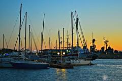 (Love me tender .**..*) Tags: sunset sea summer sky boats photography sailing august greece romantic dimitra floisvos 2013 palaiofaliro nikond3100 kirgiannaki