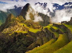 Clearing Storm over Machu Picchu (AndersonImages) Tags: mist storm peru inca ruins andes machupicchu incatrail sungate michaelanderson