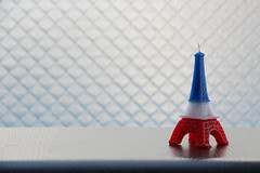 The Eiffel-Tower Candle