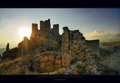 - Imperius - (swaily  Claudio Parente) Tags: tramonto tramonti paesaggi luce abruzzo laquila d300 ladyhawke roccacalascio nikond300 swaily checchino