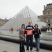 """France: Mike '75 and Ellen Mathis '75 Webber, with daughter Martha, visited the Louvre in Paris. • <a style=""""font-size:0.8em;"""" href=""""http://www.flickr.com/photos/49650603@N07/9784906702/"""" target=""""_blank"""">View on Flickr</a>"""