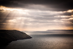 (drfugo) Tags: sea sun clouds devon bleak lundy woolacombe shaft putsborough baggypoint canonef135mmf2lusm canon5dmkii