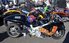 005 (Fast an' Bulbous) Tags: santa autumn england bike race speed drag poer pod nikon october gimp fast sunny strip motorcycle motorsport santapod eliminations d300s extremebikeweekend