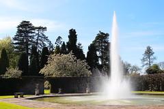 fountain at Arley Arboretum, Worcestershire (Keith Wilko) Tags: water fountain pond arboretum worcestershire arley kidderminster arleyarboretum