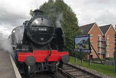 31806 at Alton - 17th Oct 2013 (twpudd) Tags: class steam southern u alton mid hants