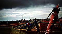 Crossings (PralineB) Tags: artwork photos montage dakar crossings metaverse opensimulator pralineb