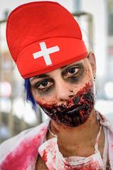 (Yuri Alexandre) Tags: make 50mm costume blood nikon day foto saopaulo cosplay zombie walk fake maquiagem sp fantasia sangue zumbi lightroom 2013 d5000 yurialexandre
