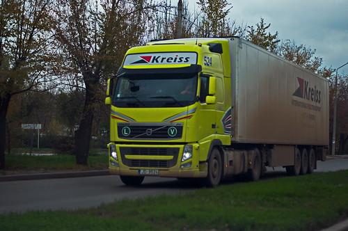 """Volvo FH13 460 """"Kreiss"""" (Lv)"""