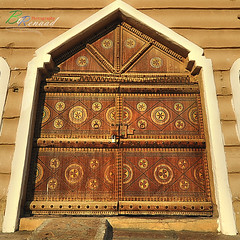 Folk Village Gate ~ بوابة القرية الشعبية (Bo.Renaad) Tags: gate village falk dammam الدمام الشعبية بوابة القرية