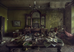 Ghost house ( explore) (andre govia.) Tags: house abandoned table dead demo mirror decay ghost down creepy horror ghosts mansion manor derelict decayed decaying andregovia