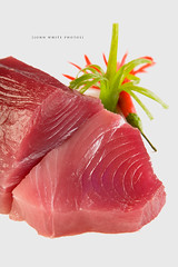 Sashimi tuna (john white photos) Tags: sea food fish cuisine healthy raw sashimi australian australia eat seafood diet tuna