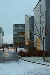 Arabianranta, Helsinki (Riku Kettunen) Tags: winter snow suomi finland helsinki nieve invierno fin lumi talvi finlandia arabianranta