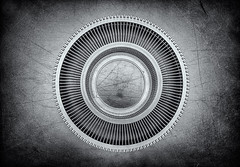 Circle (Humphrey Hippo) Tags: bw monochrome circle explore fujifilm hdr x100 explored niksoftware silverefexpro silverefexpro2 fujifilmx100
