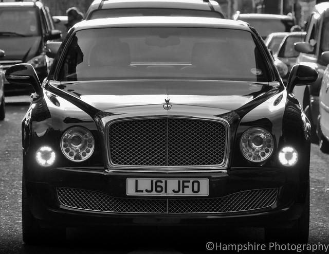 road uk blackandwhite bw london car photoshop photography photo photographer photoshoot rich picture knightsbridge photograph blacknwhite luxury bentley mulsanne 2013 ukplate ukreg uksupefcars