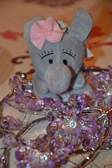 Elephant (MissLilieDolly) Tags: dcoration de nol christmas decoration suspension hanging guirlande garland boule ball personnage characters figurine figure sapin fir lumineuse tree bright light collection elephant pre santa claus missliliedolly miss lilie dolly aurelmistinguette