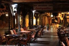 FR14 2049 Café Castignolles, Mirepoix, Ariège (Templar1307) Tags: longexposure france night cafe ariege mirepoix midipyrenees castignolles