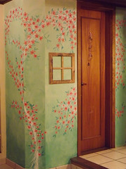 Parede da minha casa (CANELA COOL by CAROL) Tags: sakura parede pintura cerejeira