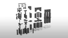 BBridgeULTIMATEfintowerONLYexploded (Eichhorn_) Tags: architecture lego brooklynbridge