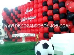 Decoração Clean Flamengo Personalizada (Album de Decorando Sonhos) Tags: de clean infantil com nome festa aniversário decoração placa menino futebol flamengo painel mdf balao decoraco