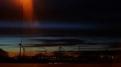 Avonmouth Wind turbines at Sunset (TempusVolat) Tags: sunset sky slr digital canon geotagged eos mr somerset dslr canoneos gareth turbine turbines tempus avonmouth windturbines morodo 60d volat canoneos60d eos60d mrmorodo garethwonfor tempusvolat