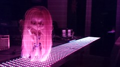 LED lights + Gretchen = scary