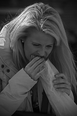 You get to greedy you go home hungry! (Bart Booms) Tags: street camera city portrait bw white black holland netherlands dutch souls photography photo nikon flickr utrecht moments fotografie candid creative bart going scene snap best explore r crop squareformat co eyed moment ces unposed fa collecting tog decisive booms straatfotografie graphy mmons streettog
