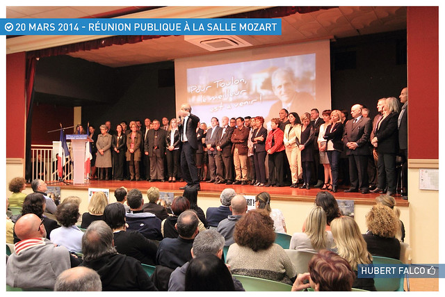 Réunion publique Salle Mozart