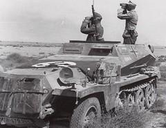 1942 Lybia SdKfz 250 AFRIKA KORPS
