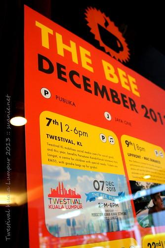 Twestival Kuala Lumpur 2013 - The Bee Publika