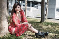 DSC_5413 (錢龍) Tags: 陳葳 d700 美術館 nikon 外拍 美胸 beauty girl sexy