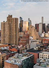 Rooftop View (20170324-DSC09043) (Michael.Lee.Pics.NYC) Tags: newyork aerial hotelview rooftopbar presslounge ink48 hellskitchen cityscape architecture midtownmanhattan sunset reflection sony a7rm2 fe2470mmf28gm