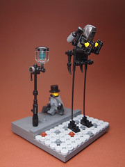 Colonial Watchman (Dwalin Forkbeard) Tags: lego moc minifigure steampunk light victorian game dishonored