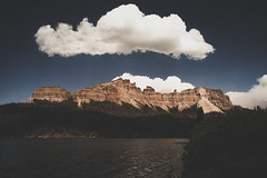 Brooks Lake, WY. (- Anthony Papa -) Tags: brooks lake wyoming dubois anthony papa photos grass green tumblr vintage matte film digital amazing depth composition canon5dmkii 24105mm water blue sky clouds rural nature landscape photography digitalrev white art travel mountains