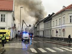 IMG_2919 Brann i Tolbodgata 56 . (steinar.kjelland) Tags: brann fire kristiansand norge tolbodgata 56