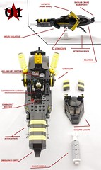 Fighter-Bomber Schematics (Deltassius) Tags: lego space fighter scifi future 200 years dive bomber spaceship
