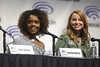 Ashleigh Murray & Sarah Schechter (Gage Skidmore) Tags: kj apa cole sprouse lili reinhart camila mendes ashleigh murray luke perry madchen amick marisol nichols sarah schechter jon goldwater roberto aguirre sacasa riverdale wondercon 2017 anaheim convention center california