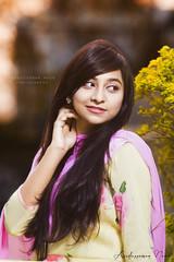 Bismee (asaduzzaman.noor) Tags: outdoor female portrait photography model asaduzzaman noor naturallight canon 6d 70200mm f28l khulna bangladesh ku beauty strobist face dof woman windy
