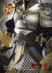 VERYCOOL TOYS VCF-DZS004 神将捍天 Exiled GOD - 12 (Lord Dragon 龍王爺) Tags: 16scale 12inscale onesixthscale actionfigure doll hot toys verycool