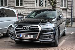 Austria (Linz) - Audi Q7 4M (PrincepsLS) Tags: austria austrian license plate l linz germany düsseldorf spotting audi q7 4m