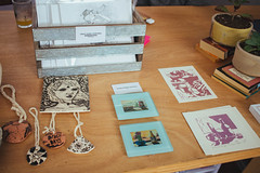 IMG_8180 (ahcordes) Tags: grand rapids art studio gallery cerasus pottery print design cat artist portrait vscofilm canon