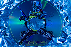 A metal hybrid (hey ~ it's me lea) Tags: ironmaiden metal aluminumfoil hybrid eddie fromglensmusiccollection cd somewherebackintime