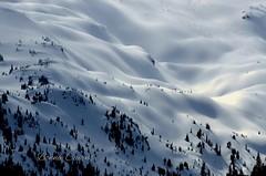 Spring Conditions?? (bonniecairns1) Tags: nature naturephotography canada landscapephotography landscapes snow mountains supernaturalbc bc britishcolumbia wilderness nikonphotography nikon bonniecairns ski backcountry
