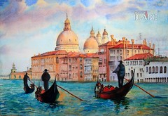 Painting of Venice Italy, painted by watercolor (shadowbilgisayar) Tags: outdooritaliantowngondolierwhitecraftitalytravelgondolasketchingfineurbanlandmarkgraphicvenicehandmadedrawingpaintwatercolorvenetianbuildingcanaltouristillustrationchurchartworkchannelarchitecturecit outdoor italian town gondolier white craft italy travel gondola sketching fine urban landmark graphic venice handmade drawing paint watercolor venetian building canal tourist illustration church artwork channel architecture city pencil sketch paper picture seascape boat scenic tourism art draw artistic sail water artist vacation europe landscape cityscape venezia venecia italia canada