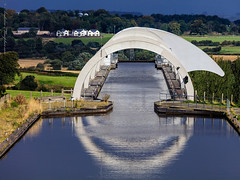 Falkirk Wheel from above the Antonine wall tunnel (andrewknots) Tags: andrewskeywords europe falkirk falkirkwheel flickr lowlands places publication scotland stirling stirlingshire exif:lens=ef70300mmf456isusm geocountry camera:make=canon exif:focallength=225mm geostate camera:model=canoneos5dsr geocity exif:model=canoneos5dsr geolocation exif:isospeed=200 geo:lon=38414416666667 exif:aperture=ƒ90 geo:lat=55997861111112 exif:make=canon lrmanaged
