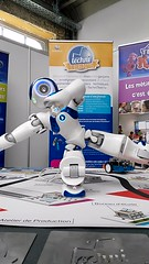 The little robot - Technifutur (le_woolf) Tags: forem technifutur robot futur job salon herstal video film technology