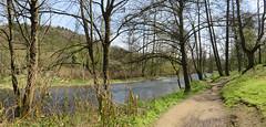 IMG_4701_4702e (Bike and hiker) Tags: ourthe aisne printemps lente