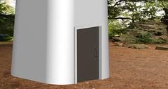 12-Low Noise Wind Turbine Entrance Gate (fritzvanderlaar) Tags: wind turbine windmill alternative blades